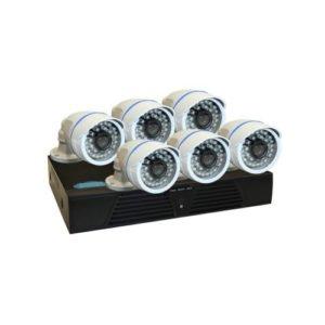 BEGAS 1130 AHD 6 Kameralı 1.0mp Paket - P161