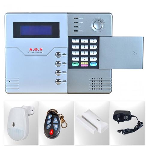 S-40 SMGP SET Kablosuz GSM Modüllü Alarm Sistemi 1