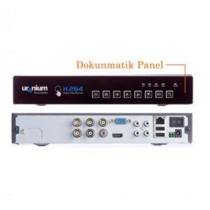 URANIUM UR-AND42H 4 Görüntü 4 Ses HDMI Full 960H Dvr Kayıt Cihazı